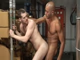Arab Stud Med Shows Cute Apprentice Christian the Ropes. the Submissive Little Slut Opens His Ass Wide for Med's Enormous Prick. With Deep Thrusts Med Fucks Christian and Shoots His Load Onto His Butthole.