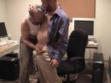 "Shadow has infiltrated the Pig Daddy Offices and sets his sights on pooch. Pooch then spreads his horniness throughout the office. One after another the office boys fall under Shadow""s erotic spell, sucking and fucking and eating eachother""s cum! We caught the action on film in what is definitely some very hot man-to-man"