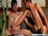 "Straight hunk Chain lets Marke suck off his cock until he explodes his Hot Jizz in Marke's waiting mouth! Marke gets a throat full of Chain's cum! Watch it all now at JizzAddiction.com or go to http://www.bonerama.com/search.php?mode=search&page=1 & get the new video ""Spunk Junkies"""