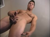 Gay latin men shows his hot masculine body & his big uncut cock and strokes his big verga till he unloads a warm load on him self. Visit bilatinmen,com for more hot action and more hot latin guys.