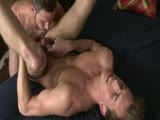 gay porn Chris B & Tristan || Chris Bines fucks Tristan Scott and gets such a hot blowjob he has to shoot his load all over Tristan's handsome face.