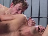 gay porn Fuck That Punk || Fucked in all possible positions, fingered and humiliated the italian banker gets a huge load shot directly into his face. He gets chained to the iron bars while his satisfied cell mate falls asleep.