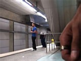 gay porn Waiting For Meat Train || Saw this piece of meat waiting for the train, i thought i would mark him as my territory for the others to see