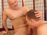 gay porn Hard Beef || Meet Joseph! He is a 40 something, divorced straight guy who has been a construction foreman for the past 20 years. He works primarily on the West Side. Joseph is solid, hard BEEF! He has a hairy chest, hairy bush, hairy ass and a FAT cock! He loves blowjobs and even admitted to getting one on the job once or twice or more.<grin> His current girlfriend is totally cool with letting Joseph get serviced, just as long as it is not another woman. Joseph was eager to get the cocksucker to work and get his fat cock in that mouth. Joseph enjoyed the soft lips and deep throat that we provided him. He loves seeing a cocksucker on their knees and this time was no different. After a variety of positions it looped back to Joseph standing up getting sucked off. The massive load that he shot was proof that Joseph really enjoyed his Sunday afternoon blowjob!