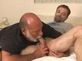 Daddy lars loves to pleasure admirers and as his cock sucking stills are second to none he shows josh a very good time as he sucks his cock and rims his ass in this special scene.