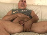 gay porn Daddy Matt Jerking Off || We had orginally booked matt with a cute young admirer but when he didnt show up matt didnt want to leave unsatisfied so he whipped out his fat cock and started beating off.