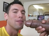 gay porn Training Day || Here's the deal... We brought in this guy Alexander for this weeks it's gonna hurt update. Alexander is a really fit Jacked dude who wanted to suck on a big fat black cock. Luckily for him I know Castro! Castro had no problem dropping his draws for a good looking guy to slob on his knob. After a filthy cock sucking Castro stuff's his giant cock in a nice tight asshole and it was painfully sweet with a great big load on the face. Enjoy!