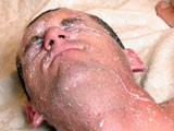 Gay Porn from ManButtered - Gay-Gets-Ass-To-Face-Cumshot