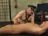 Jerking Off The Slave ||