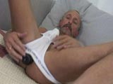 Dildo Daddy Jerking Off ||
