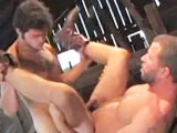 In the middle of a deserted barn, Jimmy Trips and Rick Powers roll around in the hay for some animal-like one-on-one fucking. After so mutual oral appreciation it's straight into the deep, penetrative anal. Strap in, this is a rough ride.