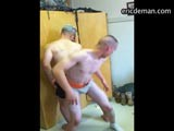 gay porn Real Soldiers Home Vid || Ericdeman has horny home footage getting inside real army barracks to see what these sexually frustrated soldiers get up to. It's a favorite pastime of these boys to strip down and dance sexy while pretending to butt fuck each other. Find a huge archive of real military men exposed at ericdeman!