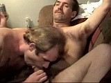 Handsome, macho electrican shane teams up with his sometimes roomy and buddy, construction worker troyce for some real &quot;love thy neighbor&quot;. This shoot is typical of my buddy sessions - both men see themselves and straight and manly, and will go just so far, and &quot;just for the money&quot;, of course. But while watching them its obvious that they want more and want to go farther. Lots of sexual tension and some good sex. <br />