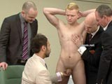 Gay Porn from CMNM - Footballers-Naked-Exam