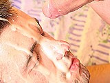 Gay Porn from ManButtered - Gay-Hungry-For-Cum-Gets-Facial