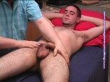 gay porn David2 - First Contact || David is a bi guy that applied to be a model even though he had fooled around with guys in the past. I had him in for an interview and found out that david is a really kewl guy to hang with. Besides having those big brown eyes, david has a great cock to play with! He asked me after the shoot if he did ok, what do you think?