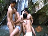 Outdoor Asian Orgy Part 1 ||
