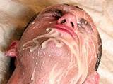 Gay Porn from ManButtered - Hot-Guy-Earns-A-Big-Facial-Cum