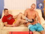 Malefootdomination with frank trost and janos volt