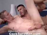 Gay Porn from CocksureMen - Riley-And-Logan