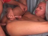 "gay porn Bareback Prison Gang Bang || We've all heard of the ""bubba in jail story. "" in this video, there are several ""bubba's"" who all gang bang a couple bottoms. They take turns on their mouths, eating ass, and all bareback. In the end they all jizz on his face and even forcing the bottom to shoot his load on his face. Hot!"