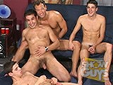 gay porn 3 Plus 1 Equals 4! || Tommy deluca and matt hyland are having a great time fucking dan hughes, when dean edwards decides to jump into the scene for even more fun!