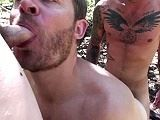 gay porn Mt Bareback Part 2 Pre || Part 2 of this bareback adventure starts with aaron french sliding ethan ever's huge raw cock deep in his ass on the mountain floor. Watch the entire video only at barebackplace<br />