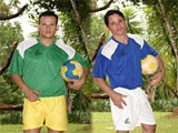gay porn Soccer Game Sex || Igor and mike have just finished a soccer game and need to take a shower but!