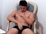 gay porn Newcummer Jerry Stone || This week brings us another new hottie, Jerry Stone, to the ManAvenue lineup. Jerry was a little shy when we first met him but told us he'd been thinking about adult modeling for some time. He left that meeting, beefed up at the gym for 6 months and called us back. We were amazed at the amount of muscle he had packed on. He has obviously overcome his shyness, too, because his dick was hard when he exposed it from his boxers. Jerry shows off his muscle gains, strutting his hard cock across the room, all before laying back on the bed and blowing his load for us. Jerry, Jerry, Jerry. Can't wait to see you swallowing a cock with your mouth and ass :)