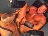 Check out these hot muscle daddies fucking in the backroom geared up in leather and ready to fuck some serious ass and take some serious dick. Check out this hot video and hundreds of other exclusive videos at sebastian's studios.