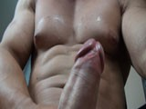 gay porn Cocky Bb Strokes And N || Check out my massive chest as i just finished pumping it real hard at the gym. Flexing and being cocky till i bust a nut and rub it off on my smooth chest