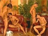 Gay Porn from StrongMen - European-Group-Sex
