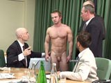 gay porn Athlete Physical Inspection || New at cmnm, captain jon damian is handsome, talented and at the peak of his athletic physical abilities. The board of directors at mancastle united football team are concerned about this muscular healthy young sportsman's scandalous exploits off the field with his philandering and hiring prostitutes which has caused a series of sex scandals in all the tabloids. The football board re-evaluate the football captain's worth stripping him completely, probing his anus and extracting a sperm sample. This football star learns that no matter how famous and successful he gets his place is as a naked subordinate to the powerful board members of the club. See the new clothed male/naked male videos at cmnm!