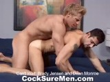 Gay Porn from CocksureMen - Brady-And-Dean