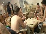 gay porn Strip Poker Circle Jer || Slip Takes Photos While Wiley, His Cousin Danny Boy, Blinx and Cain Play a Nasty Round of Strip Poker. Then Slip Get Naked and All 5 of These Straight Dudes Have a Naked Jerk-off Contest. See Over 37 Inches of Hard Straight Cock and See Who Cums First and Who Get Humiliated. Dis Da Way We Chill At Straightnakedthugs - See It All and More Real Straight Guys Getting Naked and Nasty Now - Click Banner for More Free Porn!