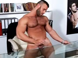 gay porn Gianluigi One To One || Everyone's favourite straight MAP stud makes his return this week and invites you into his office for a steamy one on one. We know how much you liked him after his debut last month so this time were getting even closer, to make sure we dont miss a single inch of the Italian stud's flawless physique. And he is more than willing to show it off for you, flexing his rock hard muscles and stroking his hairy chest, down his perfect six pack , opening his belt and undoing his suit trousers to slowly reveal his monster, 9 inch uncut meat. And let me tell you, this is one of the most perfect cocks we have seen in a long time, and we have seen plenty of cocks here on MAP. Big, fat, juicy and veiny... But dont take my word for it and see for yourself as he shoots his hot, sticky load all over the desk. You'll be wishing you were lying on that desk ready to take every last drop!