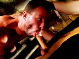 gay porn Tristan Jaxx & Ric || Seeing Tristan Jazz shove his hairy face into Rick Powers should be listed as one of the seven wonders of the world, along with his thick cock, that is. That big tool gets plenty of action in this video too as he shoves it into Rick's waiting hole and plows him like a piece of dirt.