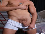 Gay Porn from badpuppy - Warehouse-Jack-Off