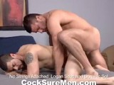 Gay Porn from CocksureMen - Logan-And-Dominic