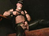 Watching Leather Daddy Jerk