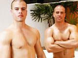 gay porn Gio & Dio 2 || I've got a great little package for you with this video - well two matching ones actually. This is a great live show I did with the twins Gio and Dio back in 2008; that's right two smokin' hot muscled Latinos together in a pair. Try and restrain yourselves as you watch it, boys.