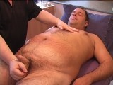 Luke Came to See Me One Saturday Afternoon This Summer. We Chatted and Within a Half Hour I Had Him Naked on the Massage Table With His Hard Cock In My Hands. Those of You That Like Hairy, Chubby Guys, You Will Love Watching Luke.