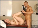 gay porn Leo Forte Fucks Sean || Sean Is Looking for a Job, and Is a Little Nervous About His First Interview. It's Always Hard Trying to Figure Out What a Potential Employer Is Looking For, but the Day Manger, Leo Makes It Easy. Every Interview Is an Opportunity to Feel Out a New Employer as Well as a Chance to Probe a Perspective Employee, These Guys Just Take It a Little More Literally.