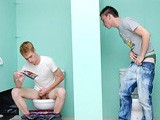 gay porn Twinks Fuck In Public Bathroom || Nevin Scott Is Having a Sneaky Jerkoff In a Bathroom, When Braden Fox Just Happens to Stumble Upon Him and Hear His Jerkoff Session. Braden Notices a Hole In the Wall, so Naturally He Lets Nevin Suck His Dick! Nevin Then Notices Jesse Jacobs' Dick In the Other Side of the Wall, Lubed Up Ready to Fuck Him!