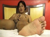 Gay Porn from LaughingAsians - Ryans-Foot-Fetish-Solo
