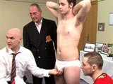 Gay Porn from CMNM - Athlete-Learns-To-Submit-Naked