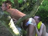Hot Young Boy Scout Gets Down on His Knees and Services His Camp Leader Deep Throating Him, Then Bending Over and Getting His Hot Ass Rimmed Out