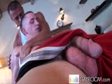 gay porn Oily Fondling Ass Massage 1 || Travis Threw Out His Lower Back and Is Getting a Full Body Massage.