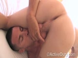 Active Duty has another great scene featuring two super hotties that really took a serious liking to one another. I think the next stop for Zander and Blake is the courthouse to get their marriage certificate. That's what getting a big dick up your ass for the first time will do to you. That's right, Zander bottoms for the first time, for Blake's enormous cock none the less. The sparks fly and Zander finds something new that he really likes. It's been a bit since we've seen Zander and he's looking just as hot as ever. He called Dink Flamingo up and said, &#34;I really wanna keep working. You've shown me a new side of myself that I really like.&#34; And that's exactly what Dink likes to hear. So do the res