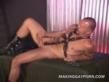 Leathered Stud Gets Ready To S || 